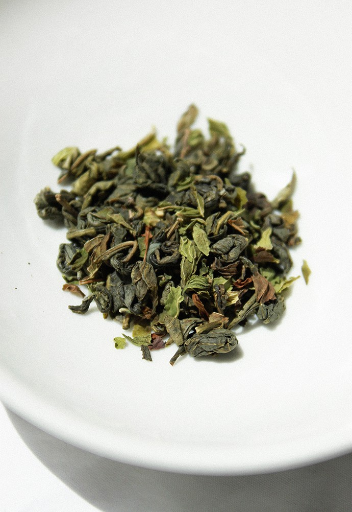 Golden Moon Tea Premium Loose Leaf Tea Sampler Review - Moroccan Mint