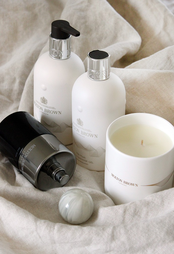 Molton Brown Milk Musk Collection