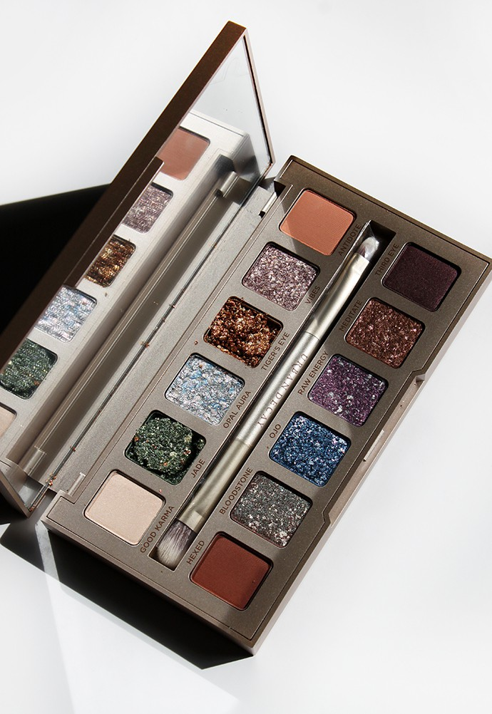 Urban Decay Stoned Vibes Palette Swatches & Review