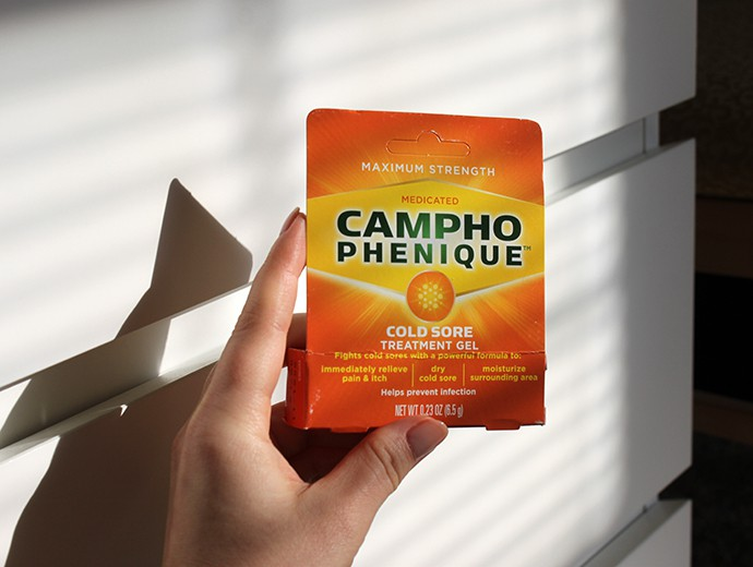 Tips and Cold Sore Remedies with Campho Phenique