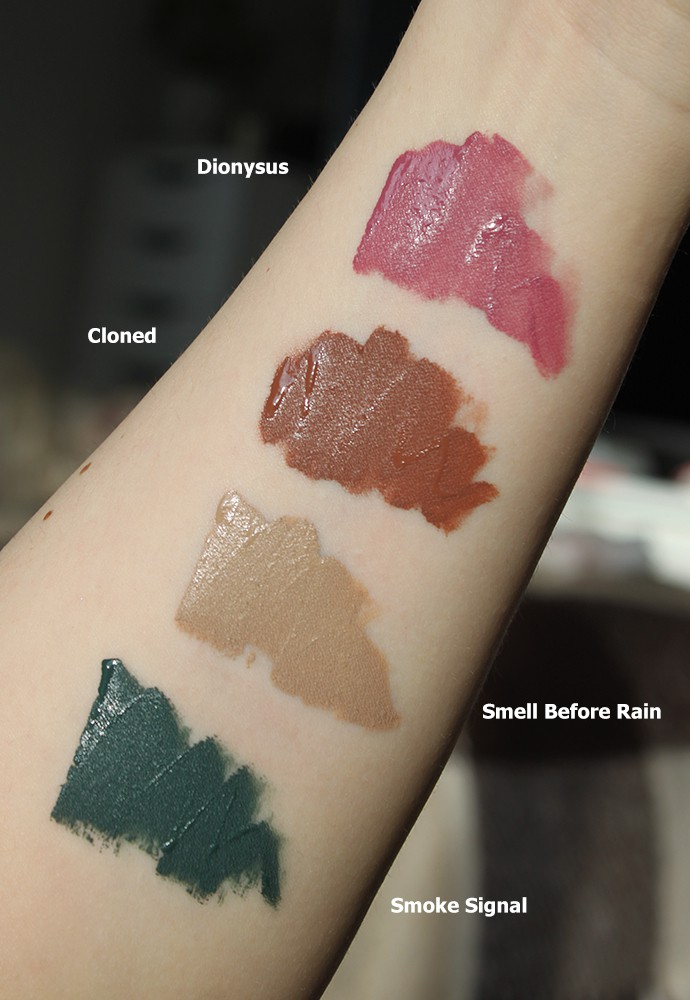 About-Face by Halsey: First Impressions, Swatches & Review