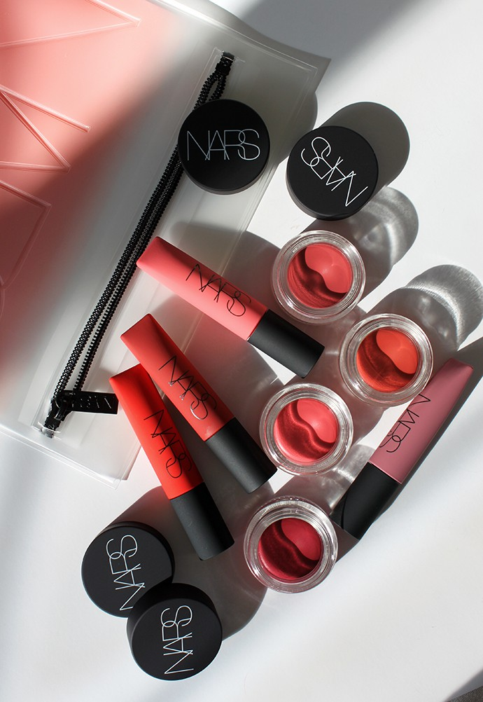 NARS Cosmetics Air Matte Blush & lip Color Review + Swatches